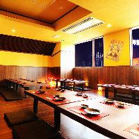 新横浜最大級の宴会場も完備しております。ご予約はお早めに。
