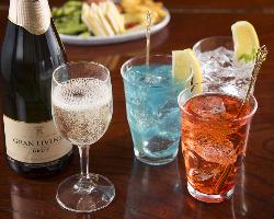 【オプション】 乾杯用スパークリングワインのご用意も承ります