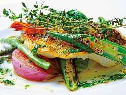湘南野菜を豊富に使った料理の数々。