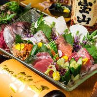 鮮やかな料理は特別な接待・会食の席にも最適。大切な日にも♪