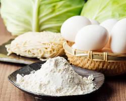広島焼き専用麺や二黄卵などにこだわり最高の味を追求!
