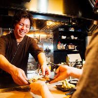 広島出身の店主を中心に元気なスタッフがおもてなしいたします♪