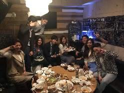 渋谷での会社宴会や同期会、合コンまで幅広く使われております!