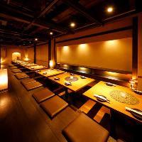 最大130名様まで対応可能なエリア最大規模の宴会個室をご用意♪