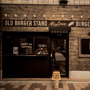 MCLEAN ‐old burger stand‐の画像