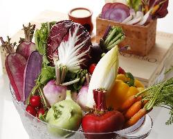 三浦鎌倉の地野菜をたっぷり使っています♪