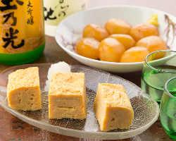 天ぷら以外にもちょい飲みに適したおつまみ各種揃っています