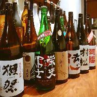 利き酒師店主が厳選。日本酒・焼酎には自信あり!