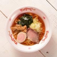 箱根温泉での宴会の〆に食べたくなってしまうようなラーメン。