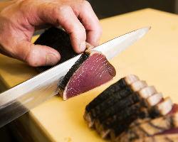 [朝採れ鮮魚をご満喫] お刺身や煮付け、焼き…多彩にご用意