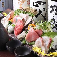 ◆新鮮な鮮魚を使用したメニューが◎貸切大歓迎!ご宴会に◆