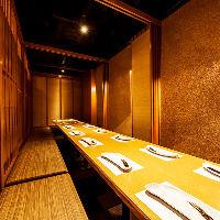 【落ち着いた広々個室】 30名様までの人気団体個室席です!!