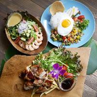 【本格料理】 実力派シェフによるハワイ&アジア料理は必食