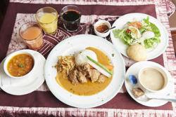 日本では珍しい、西アフリカのトーゴ料理が楽しめるお店です♪