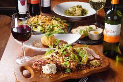 一皿で肉の美味しさや脂の甘みなど色々な味と食感を愉しめる