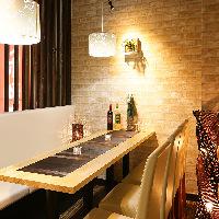 新宿駅から徒歩3分!完全個室・肉バル+和食個室を完備♪