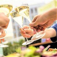 ビアテラスプランがスタート!開放的なテラスでお料理とお酒を♪