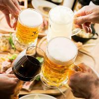 【昼から楽しめる】全メニュー楽しめる早飲みプラン2h1,480円!