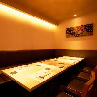 【接待向け個室席】 接待や会食に最適のプライベート個室席