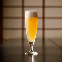 選ばれた店舗でしか味わえない風味豊かな生ビール「白穂乃香」