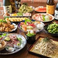 箸蔵の創作和食はお酒との相性抜群。