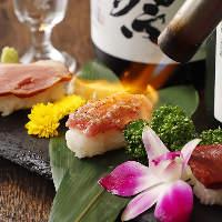 品質に拘った大人気の肉寿司!上質な肉料理をお楽しみください♪