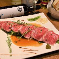 茨城は『常陸牛』を使用した牛肉のタリアータ