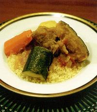 モロッコ料理と言えば「クスクス」。ぜひお試しを!