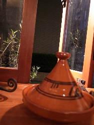 「タジン鍋」でコトコト煮込むお料理は絶品です◎