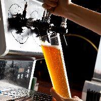 15種類のクラフトビールを常時ご用意しております!
