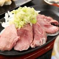 栃木県産の朝びきした豚肉の鉄板焼きも500円で提供!