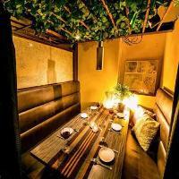 《完全個室》和モダンの寛ぎ空間。2名様からご予約可能です!