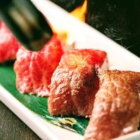 肉寿司が大人気!!食べたら止まらない肉バルのお店だからこそ人気