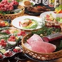 色鮮やかな旬の新鮮食材をご用意♪宴会に華を添えます♪
