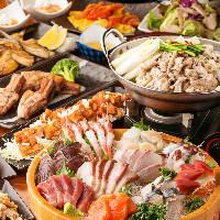 鍋付飲み放題コースは2,980円〜!宴会・飲み会にぜひ◎