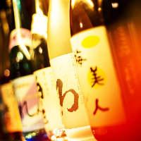 厳選された日本酒、ワインも!女性に人気の梅酒等もございます♪