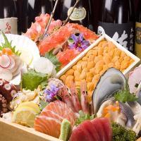 厳選仕入れ新鮮な海鮮をふんだんに使用した料理をご提供します♪