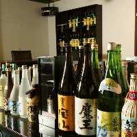お酒、ソフトドリンク、ドリンクメニューが豊富◎