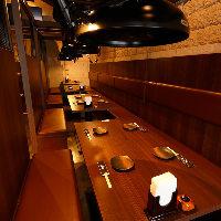 [駅近] 西武新宿駅より徒歩1分!少人数向け完全個室を多数完備