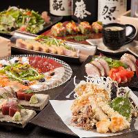 【3Hプレミアム飲み放題付】花見コース3980円 海鮮料理をぜひ〜