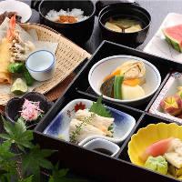日光名物湯波や地元の食材を組み合わせたお料理は大好評!