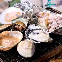 【当店一番人気!】浜焼きセット