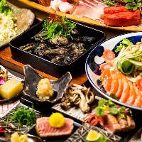 《宴会大好評》人気の地鶏宴会コースは4000円より多数ご用意★