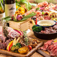 【大宮×肉】 自慢の肉料理も充実!肉食らう。メニュー満載◎