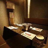 接待・会食でもご利用可能な個室をご用意しております。