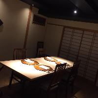 <個室テーブル席> いろいろなシーンで使える個室をご用意。