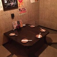 [5名様用完全個室]人気の隠れ家的完全個室!