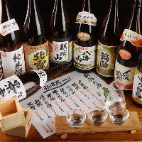 新潟の地酒を多数ご用意しました!