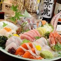 魚屋直営のお店だからこそ提供できる新鮮なお魚