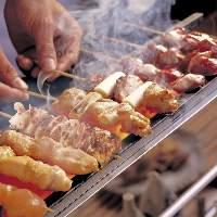 自社生産鶏「豊後高田どり」を使用した焼き鳥が自慢の居酒屋!